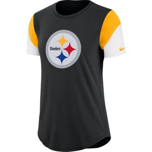 edca30ad8b6 Nike Women s Pittsburgh Steelers Tri-Blend Team T-Shirt