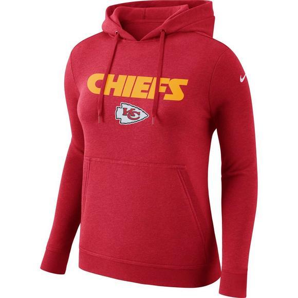 6ebce89e Nike Women's Kansas City Chiefs NFL Club Hoodie - Hibbett US