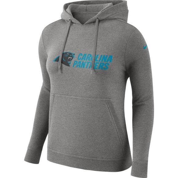 online store f6f7e 5ecfc Nike Women's Carolina Panthers NFL Club Hoodie - Hibbett ...