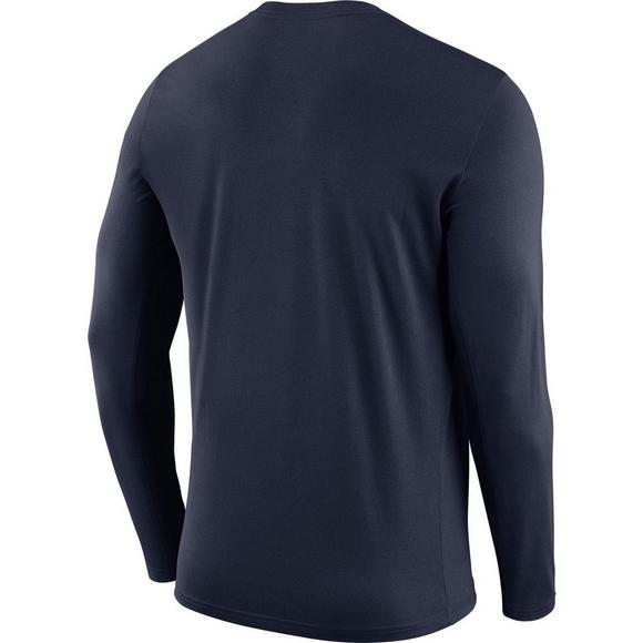 a00c0ef81d12 Nike Men s New Orleans Pelicans Logo Long Sleeve T-Shirt - Main Container  Image 2