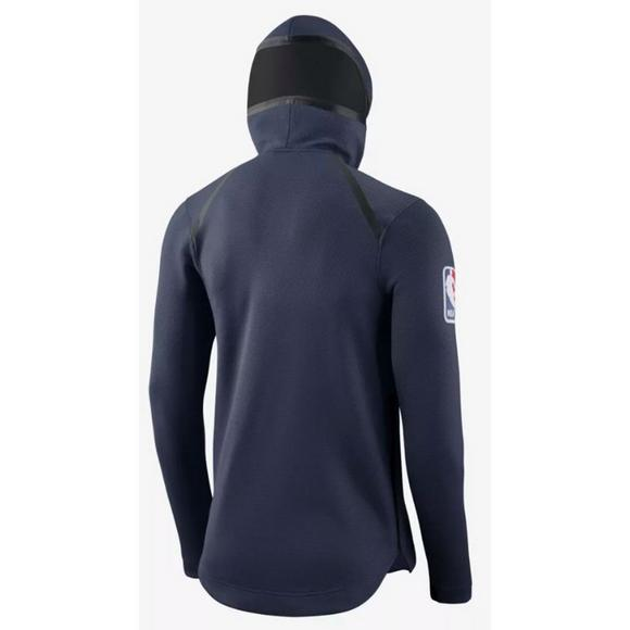 41e7634a856 Nike Men's New Orleans Pelicans Showtime Full-Zip Hoodie - Main Container  Image 2