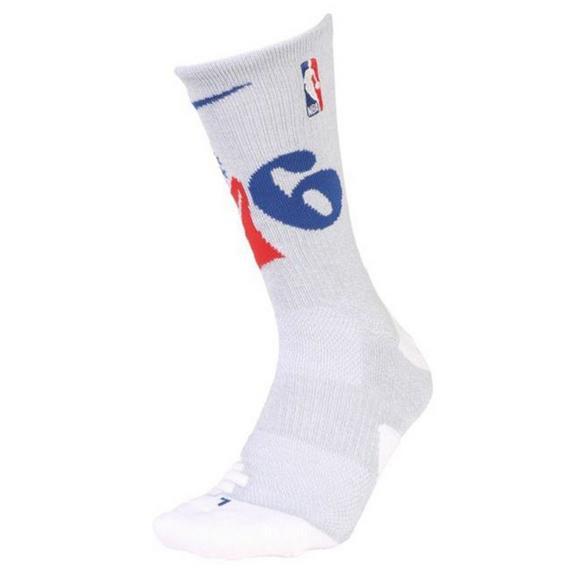 b752acb822 Nike Philadelphia 76ers Elite Crew Socks - Hibbett US