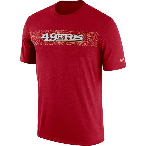 Nike Men s San Francisco 49ers Legend On-Field Seismic Dri-Fit T-Shirt baba5c965