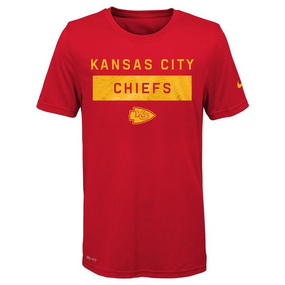 new products d6057 76dc6 Nike Youth Kansas City Chiefs Lift T-Shirt - Hibbett US