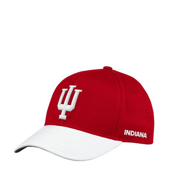 super popular 47634 6444a adidas Indiana Hoosiers Sideline Flex Hat - Main Container Image 1