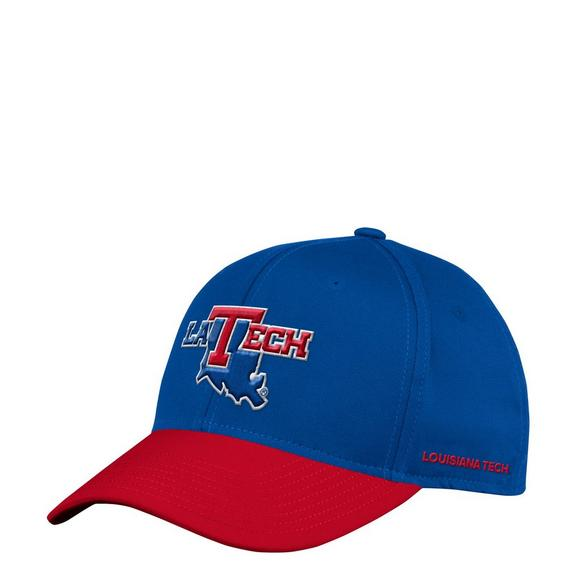 adidas Louisiana Tech Bulldogs Sideline Flex Hat - Main Container Image 1 bf70049095c5