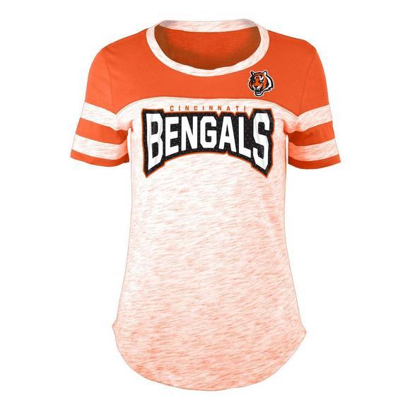 New Era Women s Cincinnati Bengals Space Dye Jersey T-Shirt - Main  Container Image 1 7f85c97bb