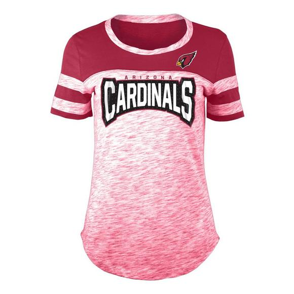 New Era Women s Arizona Cardinals Space Dye Jersey T-Shirt - Main Container  Image 1 1d160109206c