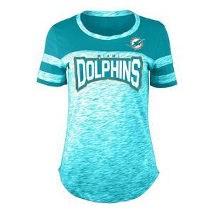 a76ef6c7ac835b New Era Women s Miami Dolphins Space Dye Jersey T-Shirt