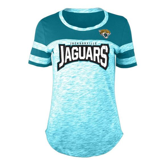info for f976d 73fb3 New Era Women's Jacksonville Jaguars Space Dye Jersey T ...