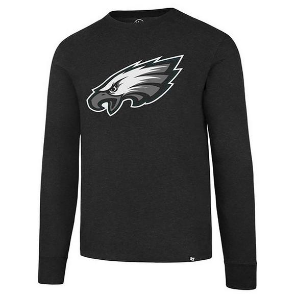 save off ad739 a8d15 '47 Brand Men's Philadelphia Eagles Club Long Sleeve T-Shirt