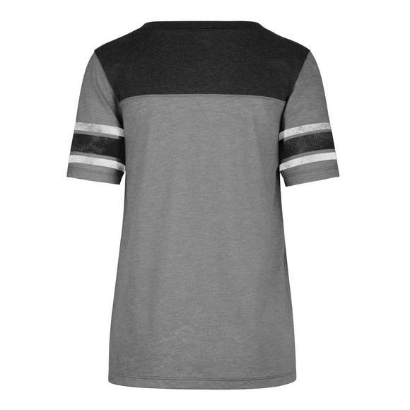 88530863 '47 Brand Women's Carolina Panthers Match Tri-Blend Short Sleeve T-Shirt -