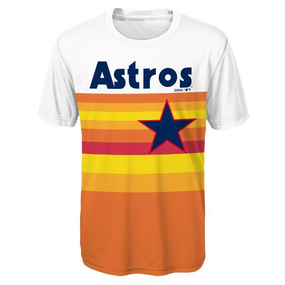 huge discount da445 7f31e Gen 2 Youth Houston Astros Custom Sublimated MLB Jersey Tee ...