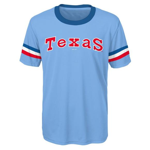 best loved dabdb 552c0 Gen 2 Youth Texas Rangers Custom Sublimated MLB Jersey Tee