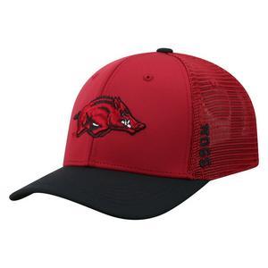 a4326f3b11b Top of the World Arkansas Razorbacks Chatter 1Fit Stretch Fit Hat