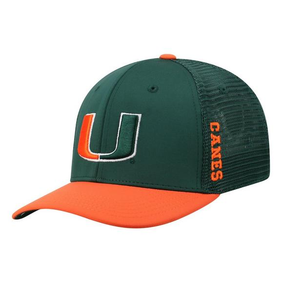 new product ad338 fc244 ... store top of the world miami hurricanes chatter 1fit stretch fit hat  main container image 1
