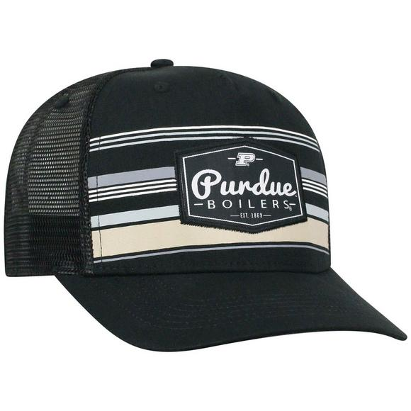 ef9f55b7c621b Top of the World Purdue Boilermakers Route Adjustable Hat - Main Container  Image 2