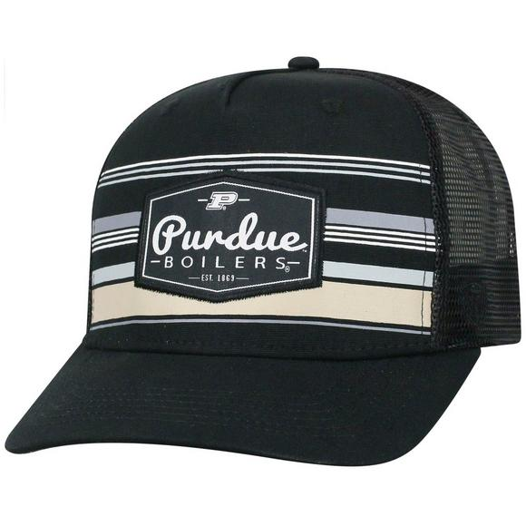 08622b6844b7e Top of the World Purdue Boilermakers Route Adjustable Hat - Main Container  Image 1
