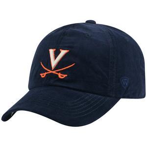 size 40 3da2a 3c9e6 Top of the World Virginia Cavaliers Artifact Adjustable Hat