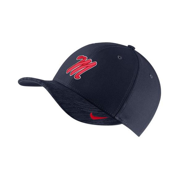 69847f1ff91 Nike Ole Miss Rebels Sideline Classic 99 Adjustable Hat - Main Container  Image 1