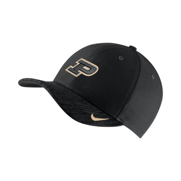 Nike Purdue Boilermakers Sideline Classic 99 Adjustable Hat - Main  Container Image 1 38ea0c737ff3