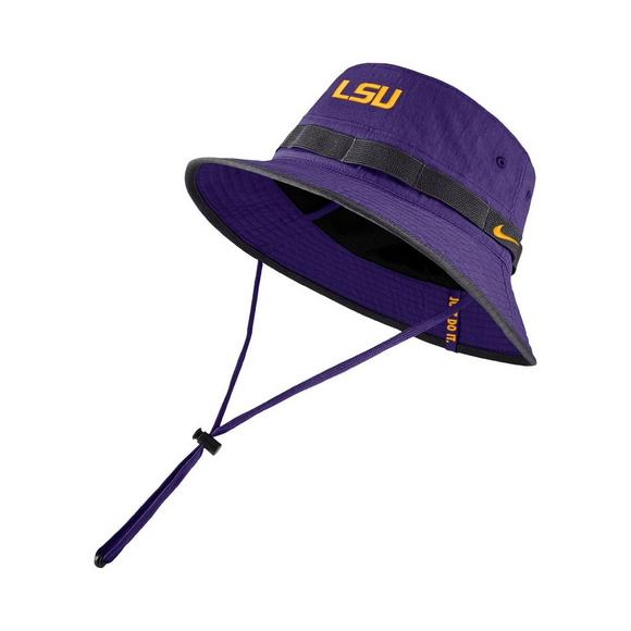huge selection of ef641 b18b9 Nike LSU Tigers Sideline Bucket Hat - Main Container Image 1