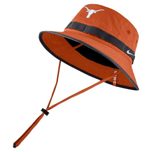 promo code 839b2 9fe78 Nike Texas Longhorns Sideline Bucket Hat - Main Container Image 1