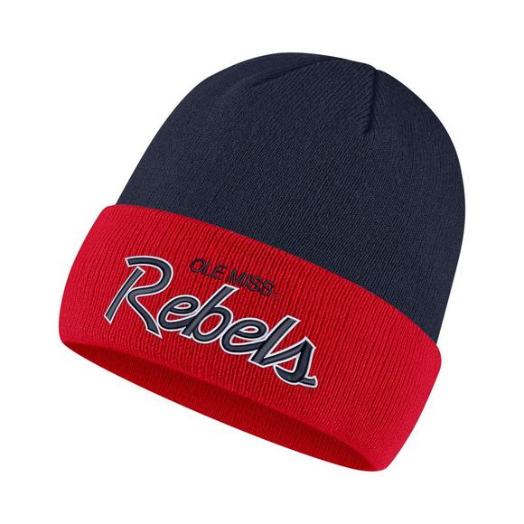 Nike Ole Miss Rebels Sports Specialty Beanie Hat - Main Container Image 1 ed402ccf6ad