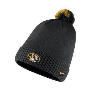 4b82fa58 Nike Missouri Tigers Sideline Pom Knit Beanie ...