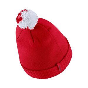 half off a3a8c 5bc00 ... best price nike ohio state buckeyes sideline pom knit beanie 0883f 4f22a