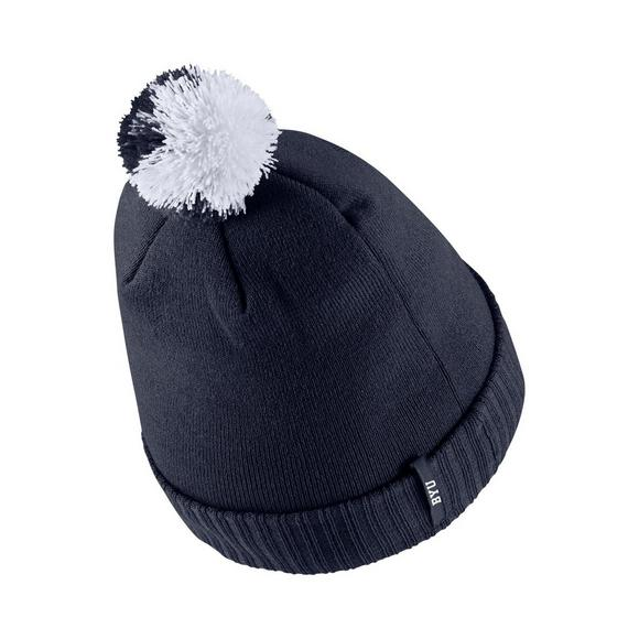 c7e03bfef4e Nike BYU Cougars Sideline Pom Knit Beanie - Main Container Image 2