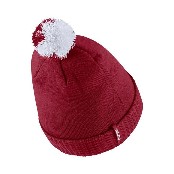 10a565ce371 Nike Stanford Cardinal Sideline Pom Knit Beanie - Main Container Image 2