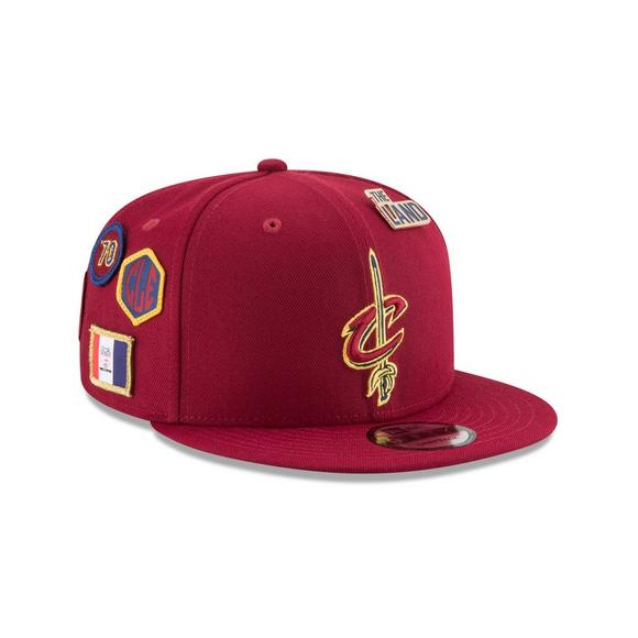 half off b5359 c0eae New Era Cleveland Cavaliers Draft 9FIFTY Snapback Hat - Main Container  Image 2