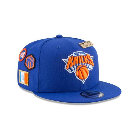 quality design 577d5 3ee8f New Era New York Knicks Draft 9FIFTY Snapback Hat - Main Container Image 2