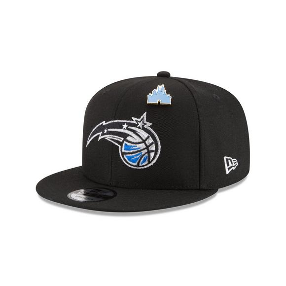 huge discount 4be2c 4aa4a New Era Orlando Magic Draft 9FIFTY Snapback Hat - Main Container Image 1