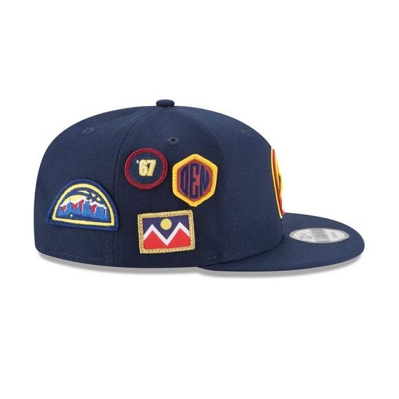 new photos ae23a cf9c0 New Era Denver Nuggets Draft 9FIFTY Snapback Hat - Main Container Image 3