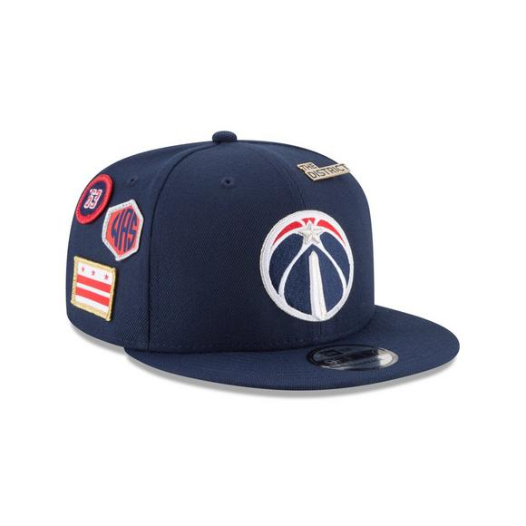 quality design cffc5 7fdc4 New Era Washington Wizards Draft 9FIFTY Snapback Hat - Main Container Image  2