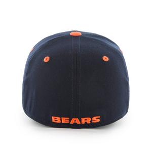 a70fac616fbc1a ... Brand Chicago Bears Kickoff Contender Stretchfit Hat