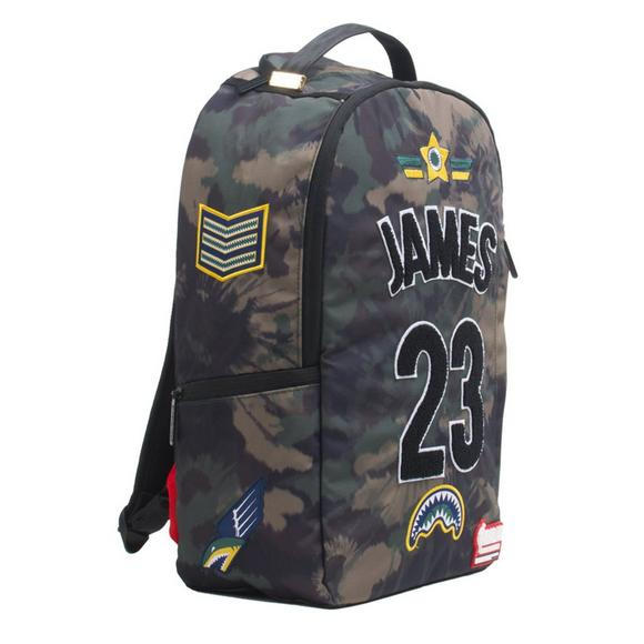 ffb1f9102c0d2f Sprayground Lebron James Tie Dye Patches Backpack - Main Container Image 2