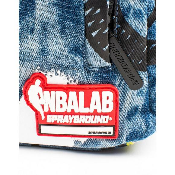 5884abcb3c5e Sprayground Russell Westbrook Denim Backpack - Main Container Image 3