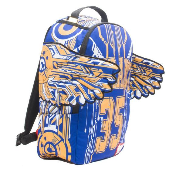 00f8b94c0c4 Sprayground Kevin Durant Golden State Warriors Tron Backpack - Main  Container Image 2