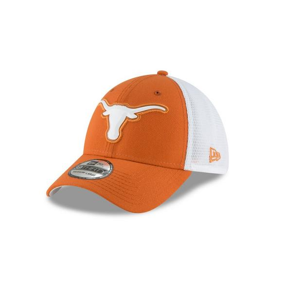 6fcd84f2186 New Era Texas Longhorns 39THIRTY Fan Mesh Stretch Fit Hat - Main Container  Image 1