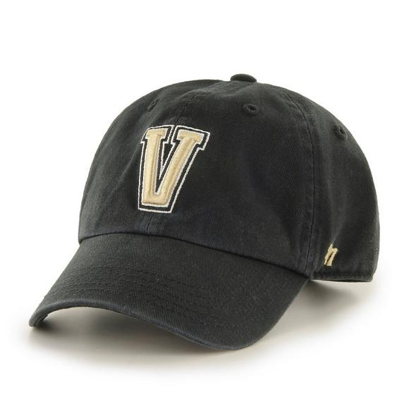 47 Brand Vanderbilt Commodores Clean Up Adjustable Hat - Main Container  Image 1.   2a91b85be24