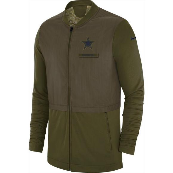 best service 267dd 398b2 Nike Men's Dallas Cowboys Salute to Service Elite Hybrid ...