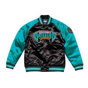 47c3906949d081 Extended Sizes. Mitchell   Ness Men s Vancouver Grizzlies Tough Season  Satin Jacket