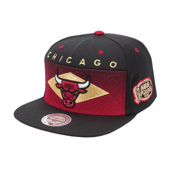 Mitchell   Ness Chicago Bulls Take Flight Gold Snapback Hat - Main  Container Image 1 d6687f1900b