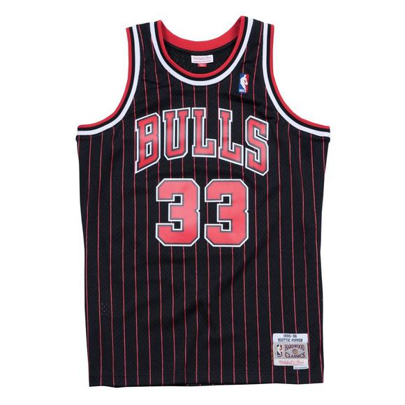 new product 02056 862e9 Mitchell & Ness Chicago Bulls S. Pippen #33 Swingman Jersey ...