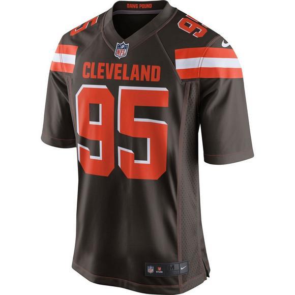 promo code 07e8f 76b71 Nike Men's Cleveland Browns Myles Garrett Game Jersey ...