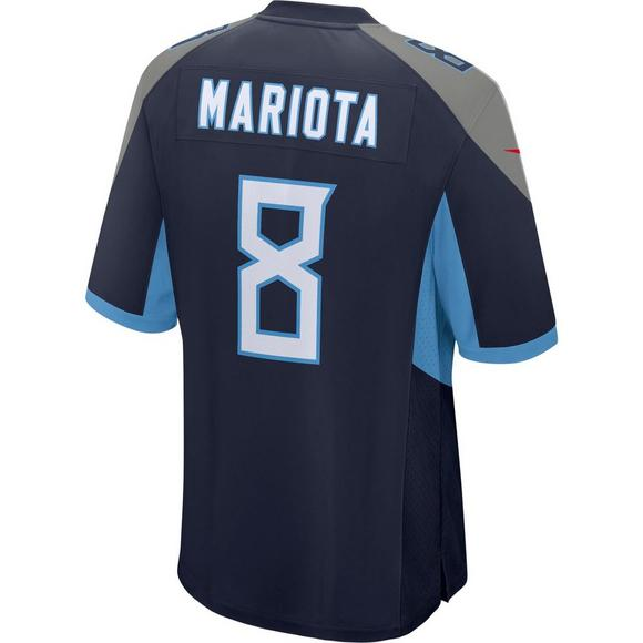 Nike Men s Tennessee Titans Marcus Mariota Game Jersey - Main Container  Image 2 4f9b666b1