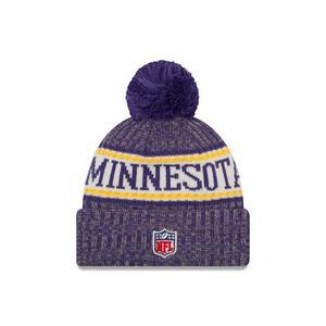 165668aa475f6 New Era Minnesota Vikings Sport Knit NFL Beanie